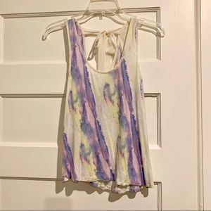 Urban Outfitters Tie back tank top